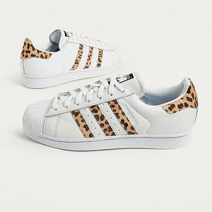 adidas Originals Leopard Superstar Trainers